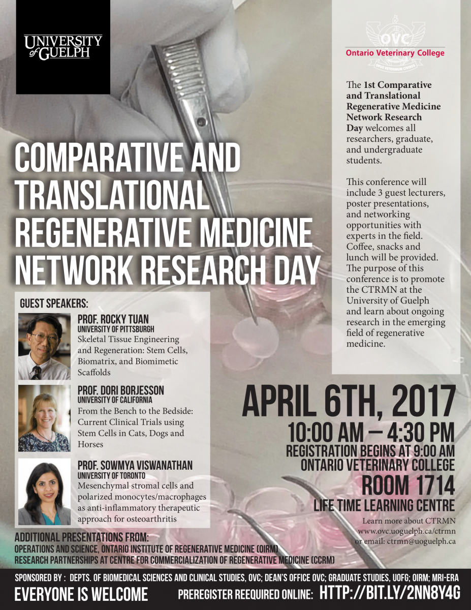 The Comparative and Translational Regenerative Medicine Network