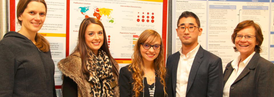 Masters of Public Health Forum showcases student work