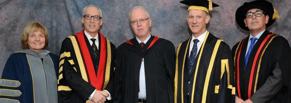 Dr. John Prescott receives distinction of University Professor Emeritus
