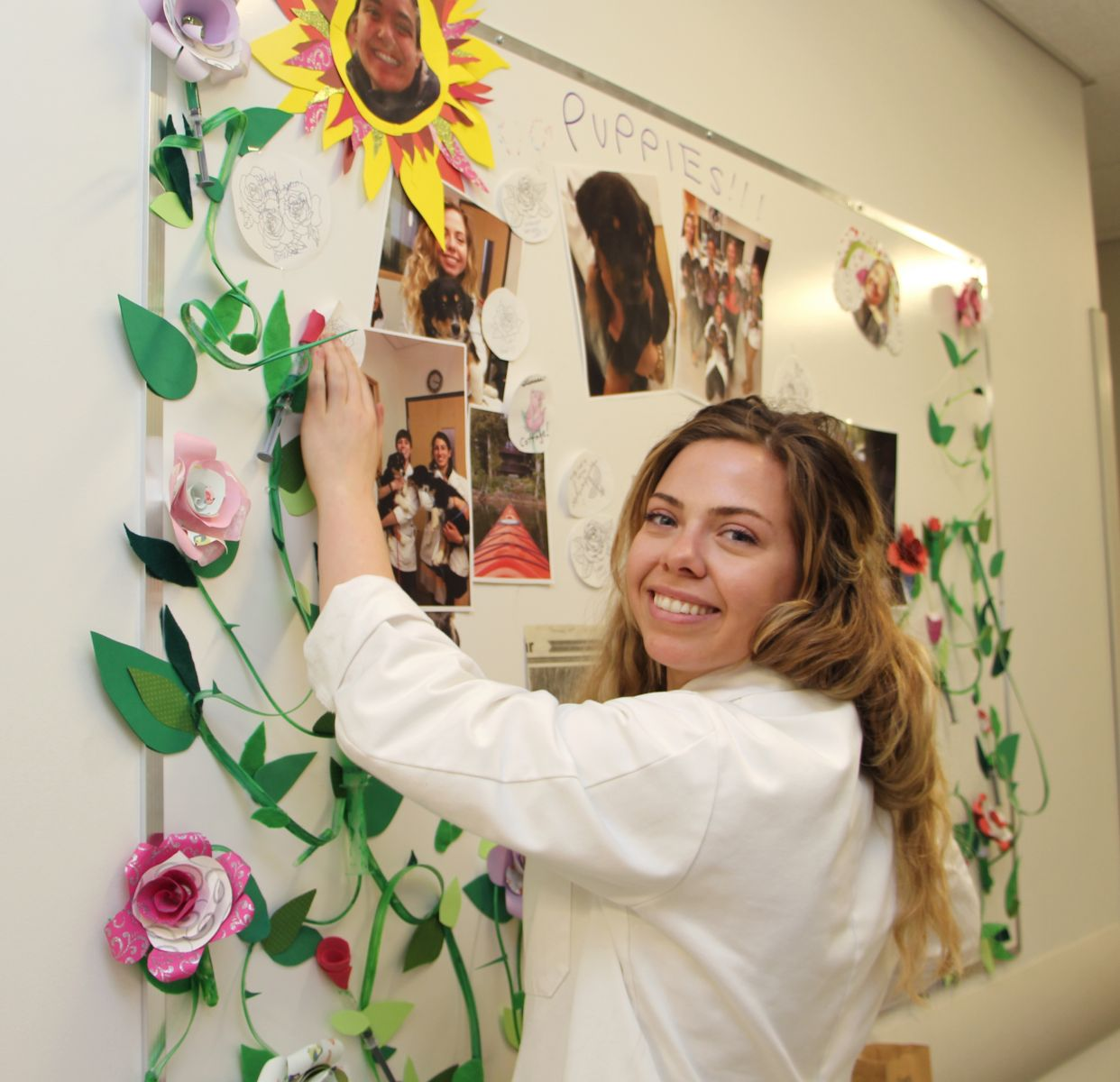 Fourth year student veterinarian with Wellness Board at Hill's Pet Nutrition Primary Healthcare Centre at the University of Guelph's Ontario Veterinary College