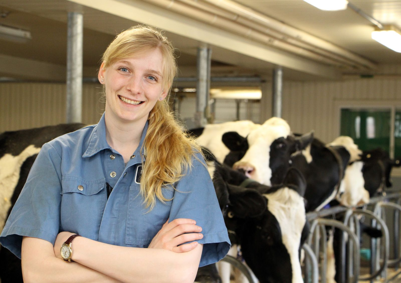 Ontario Veterinary College at the University of Guelph student Rose Rumney achieved the highest possible result on the North American Veterinary Licensing Exam.