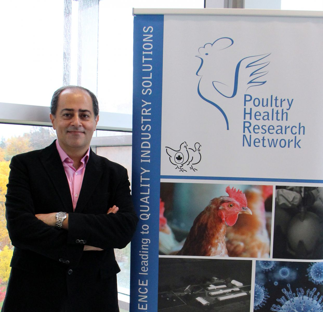 Dr. Shayan Sharif, Ontario Veterinary College, University of Guelph