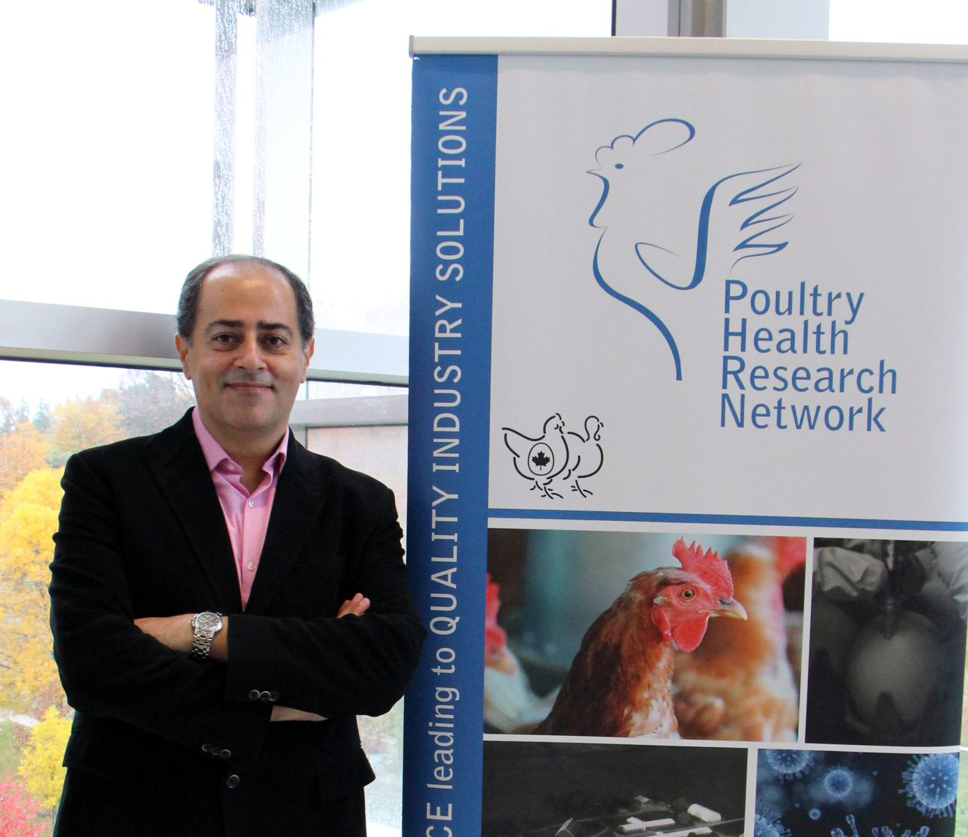 Dr, Shayan Sharif, Ontario Veterinary College, University of Guelph
