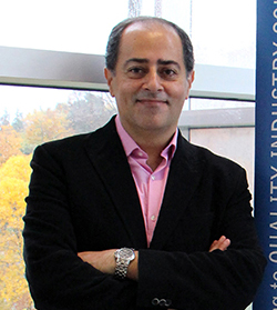 Dr. Shayan Sharif, OVC's Department of Pathobiology