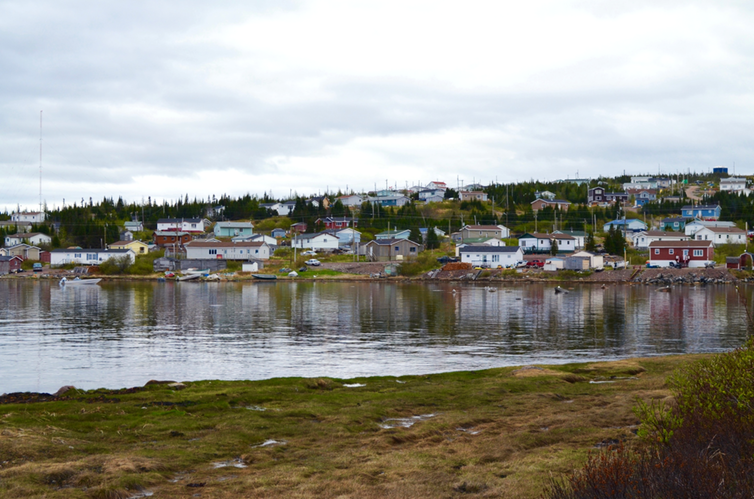 The Inuit community of Rigolet, N.L. (photo credit: Carlee Wright)